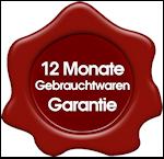 12 Monate Gebrauchtwaren Garantie
